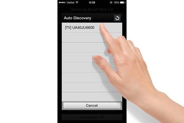 cách kết nối điện thoại samsung với tivi Asanzo qua samsung Smartview - 3