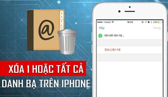 3 Cách xóa danh bạ trên iPhone 6/6 Plus nhanh chóng