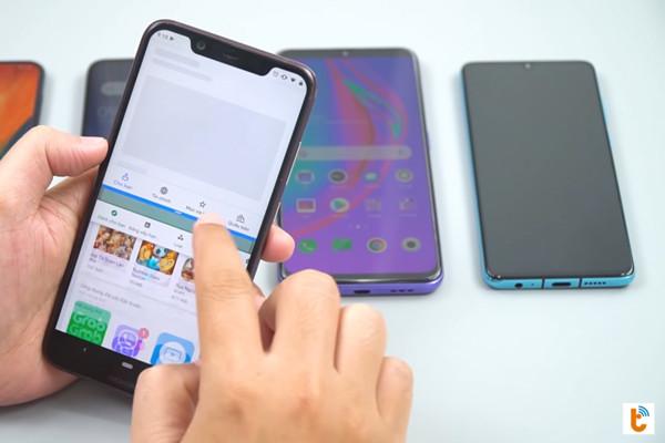 chia đôi màn hình Android 9 Nokia - bước 4