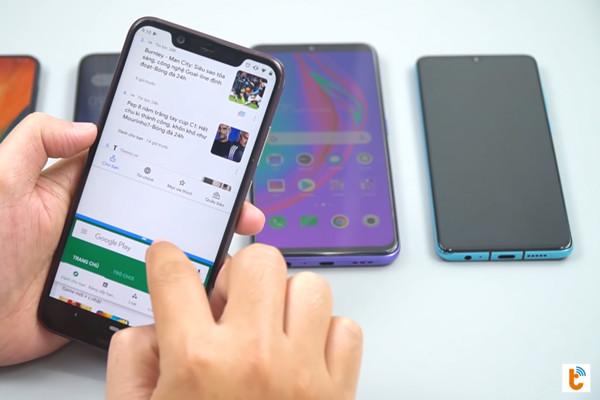 chia đôi màn hình Android 9 Nokia - bước 5