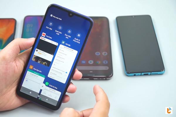 chia đôi màn hình Android 9 Xiaomi - bước 2