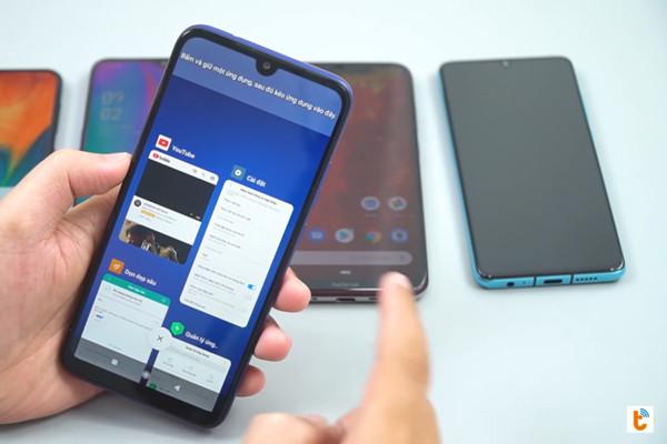 chia đôi màn hình Android 9 Xiaomi - bước 4