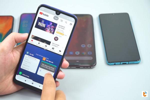 chia đôi màn hình Android 9 Xiaomi - bước 5
