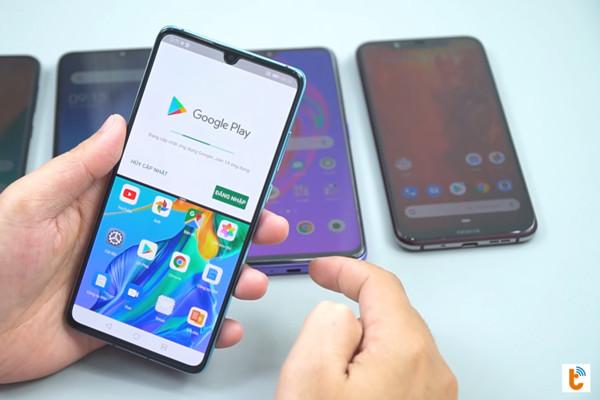 chia đôi màn hình chính Android 9 Huawei - bước 3