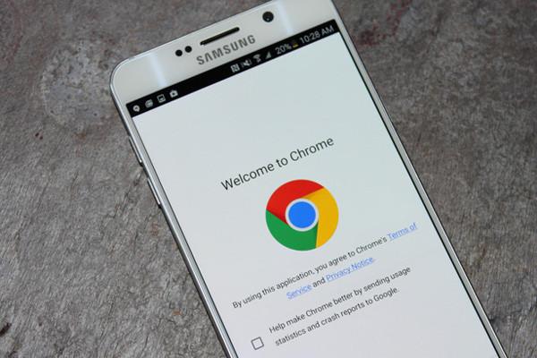trình duyệt chrome cho android