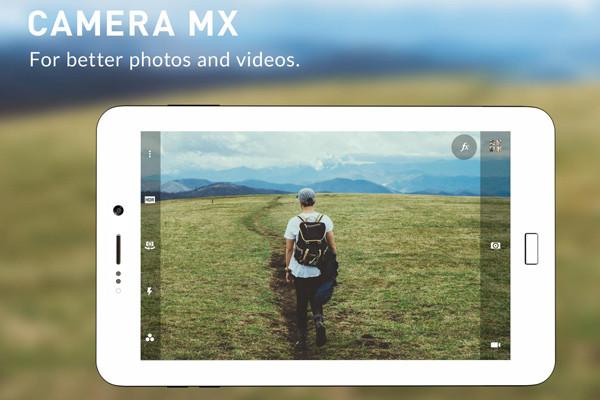 camera mx - ứng dụng chụp ảnh đẹp cho Android