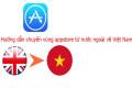 Cách chuyển vùng Appstore về Việt Nam từ đa quốc gia