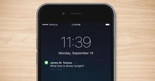 Khóa tin nhắn trên iPhone 6 một cách dễ dàng