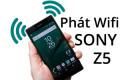 Hướng dẫn phát Wifi trên Sony Xperia Z5