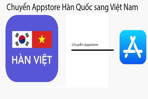 Cách chuyển Appstore từ tiếng Hàn sang tiếng Việt