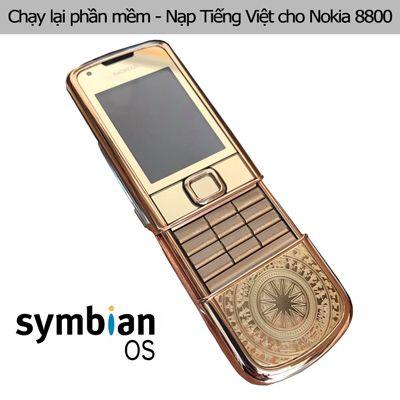 Chạy lại phần mềm, nạp Tiếng Việt Nokia 8800