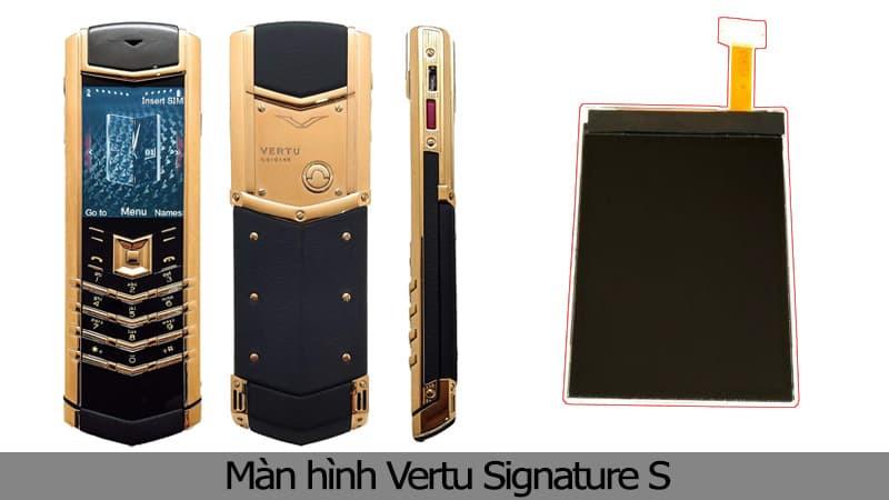 Thay màn hình Vertu Signature S chính hãng TPHCM