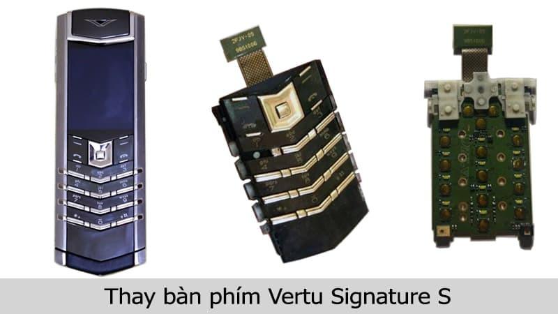 Thay bàn phím Vertu Signature S uy tín, chính hãng