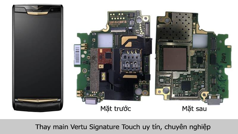 Thay main Vertu Signature Touch uy tín, chuyên nghiệp