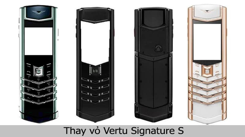 Thay vỏ Vertu Signature S chính hãng, uy tín