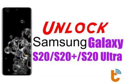 Code Unlock Samsung Galaxy S20, S20 Plus, S20 Ultra