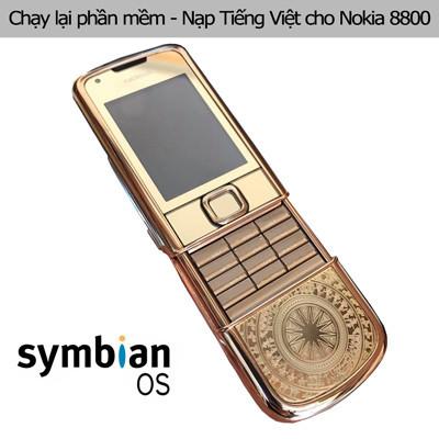 Chạy lại phần mềm, cài nạp Tiếng Việt Nokia 8800