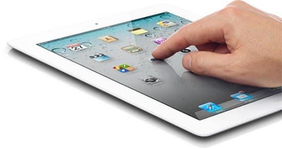 Màn hình iPad bị giật