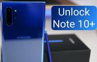 Unlock Samsung Galaxy Note 10, Note 10 Plus