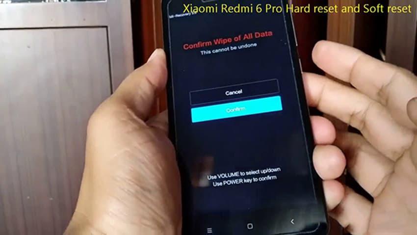 Các cách reset Xiaomi Redmi Note 6 Pro có thể bạn chưa biết