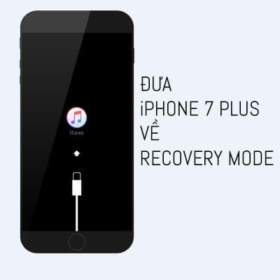 Thực hiện đưa iPhone 7 Plus về recovery mode không hề khó