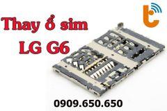 Thay khay sim (ổ sim) LG G6