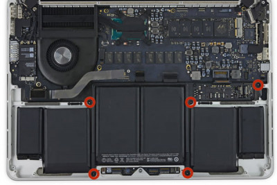 Thay pin Macbook Pro 2019