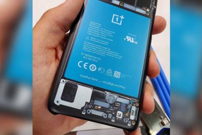Thay pin OnePlus Nord