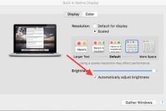 Hướng dẫn điều chỉnh độ sáng màn hình Macbook dễ dàng với 4 cách
