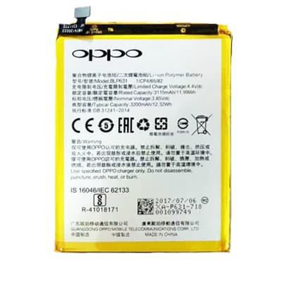 Thay pin Oppo A77