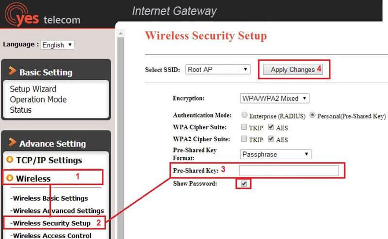 Cách đổi mật khẩu wifi VNPT | Hình 8