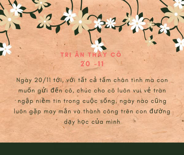 Lời chúc ngày nhà giao Việt Nam   Hình 3