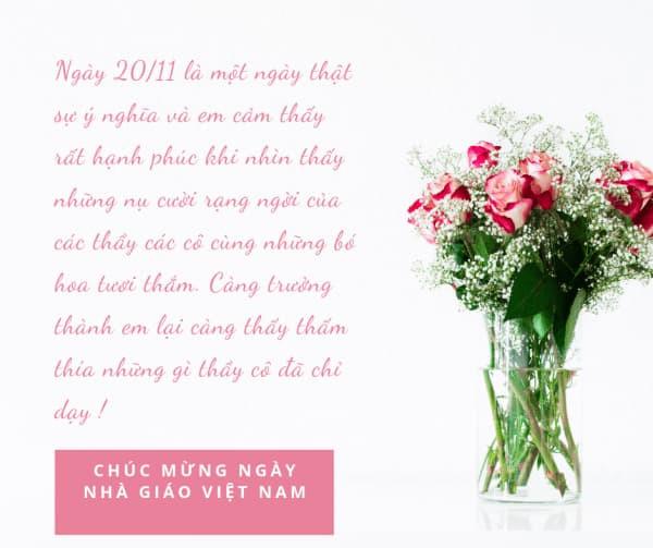 Lời chúc ngày nhà giáo Việt Nam   Hình 5