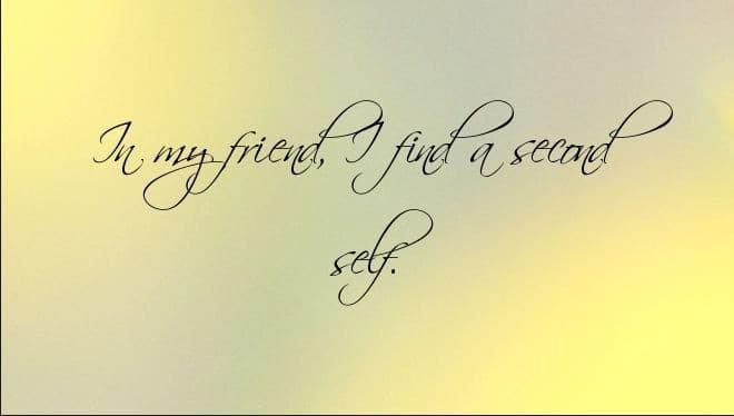 Những câu nói hay về tình bạn | Hình 11