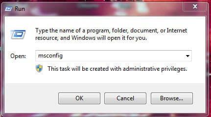 Tắt chương trình khởi động cùng hệ thông Windows 7 | Hình 1