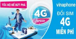 Chuyển đổi sim 4g vinaphone, viettel, vietnamobile, mobifone