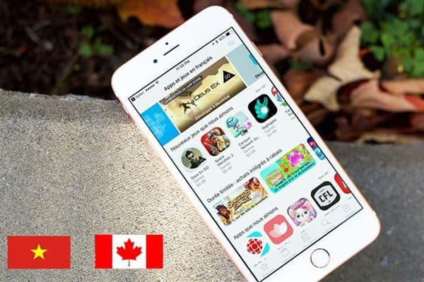 Cách chuyển vùng Appstore sang Canada nhanh chóng & dễ dàng