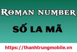 Tìm hiểu về số La Mã: định nghĩa, cách đọc, cách viết, tra cứu năm sinh theo số La Mã