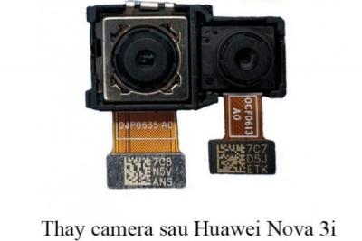 Thay camera trước, sau Huawei Nova 3i