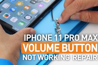 Thay cáp Volume gạt rung iPhone 11, 11 Pro Max