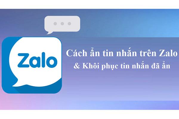 Hướng dẫn cách ẩn tin nhắn Zalo trên iPhone đơn giản chỉ bằng vài bước
