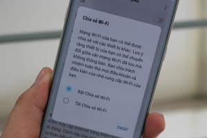 Hướng dẫn cách chia sẻ Wifi, 3G & 4G trên điện thoại Samsung 2021