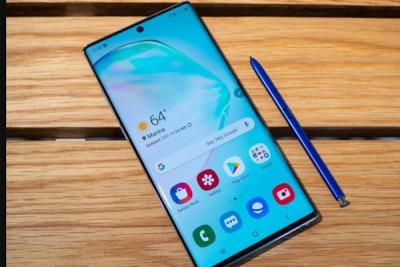 Thay mặt kính Samsung Galaxy Note 10 5G