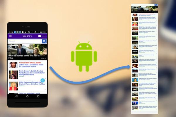 Hướng dẫn cách chụp màn hình dài điện thoại Samsung