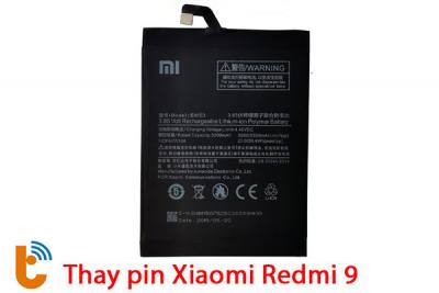 Thay pin Xiaomi Redmi 9
