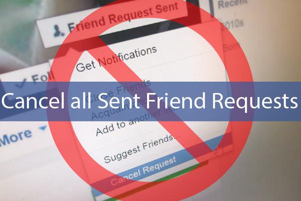 Cách hủy lời mời kết bạn đã gửi trên Facebook