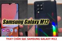 Thay chân sạc Samsung Galaxy M12