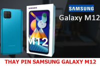 Thay pin Samsung Galaxy M12
