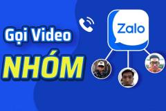 Cách gọi Video nhóm trên Zalo bằng điện thoại