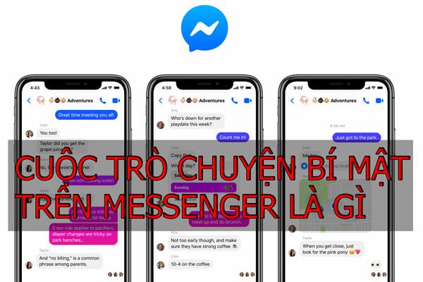 Tìm hiểu về tính năng cuộc trò chuyện bí mật trên Messenger